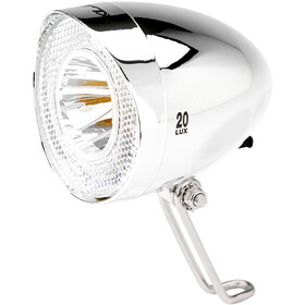 XLC LED Retro Faretto anteriore incl. Riflettore, chrome